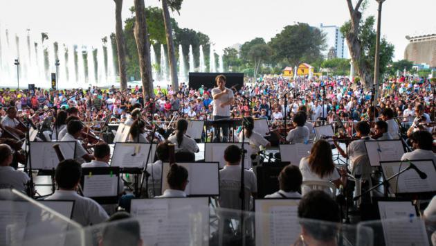 Orquesta Sinfónica ofrecerá concierto gratuito en la Concha Acústica del Campo de Marte