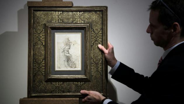 Encuentran en Francia un dibujo perdido de Leonardo da Vinci