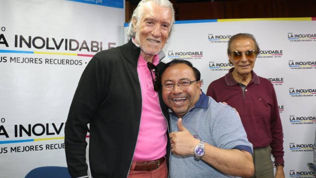Germaín de la Fuente, Nilton César y Danny Daniel visitaron La Inolvidable