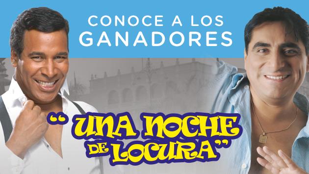 Ellos son los afortunados que irán a 'Una noche de locura' de Carlos Alvarez y Julio Sabala