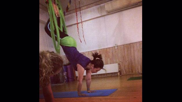¡Es increíble cómo se ejercita Myriam Hernández! [FOTOS]