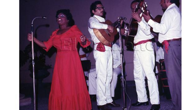 Falleció la gran cantante criolla Lucila Campos