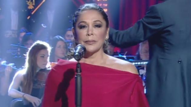 Isabel Pantoja cantó en vivo 'Se me olvidó otra vez' en programa español