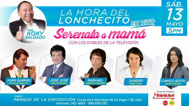 ¡Conoce a los afortunados que podrán asistir al concierto 'Serenata a mamá', gracias a radio La Inolvidable!