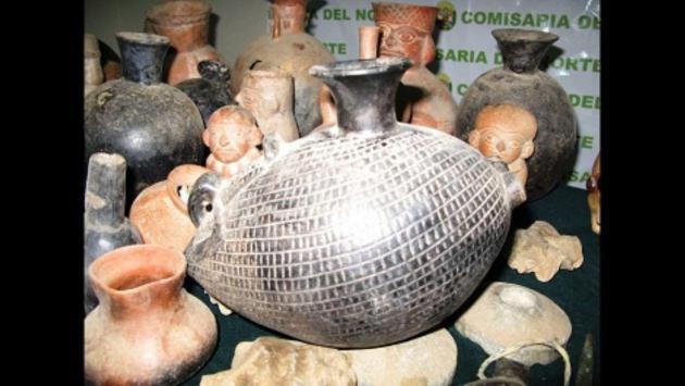 Recuperan bienes prehispánicos peruanos en Colombia