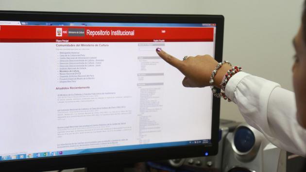 Ministerio de Cultura rescata bibliografía peruana para su difusión gratuita en la web