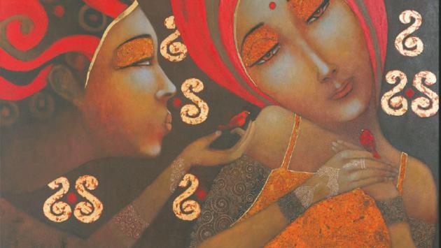 Presentarán en Lima muestra de pinturas sobre India y su gente