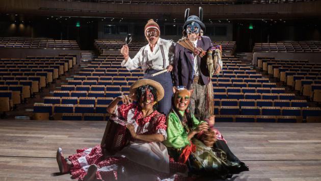 Yuyachkani será el primer colectivo escénico peruano que se presente en el Gran Teatro