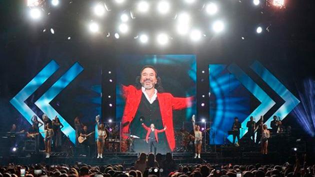 Marco Antonio Solís comparte fotos de su concierto en California