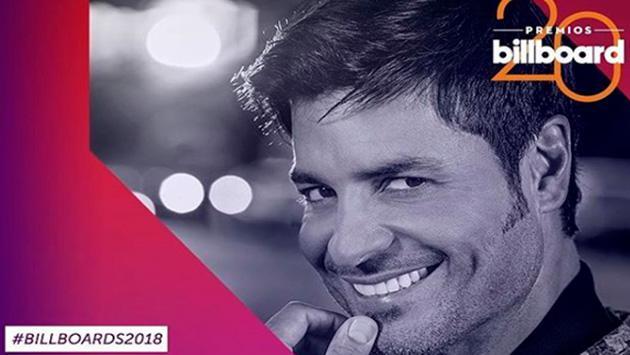 Chayanne se va preparando para los Premios Latin Billboard