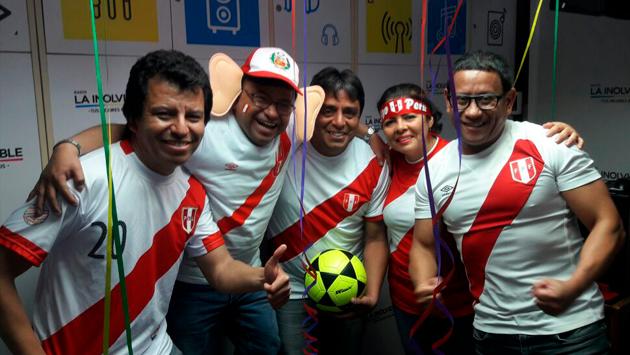 La cabina de Radio La Inolvidable explotó de emoción por la clasificación de Perú