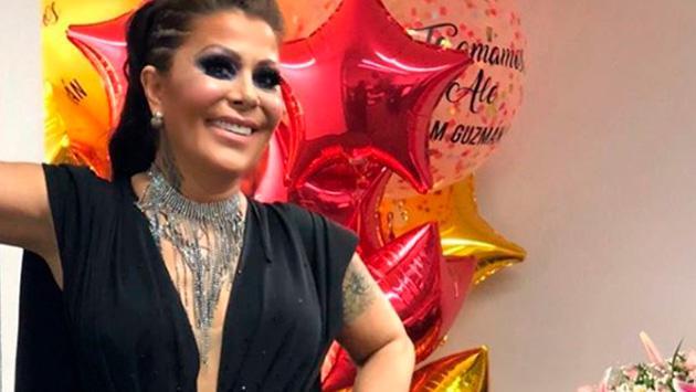 Alejandra Guzmán brilló en el escenario en México