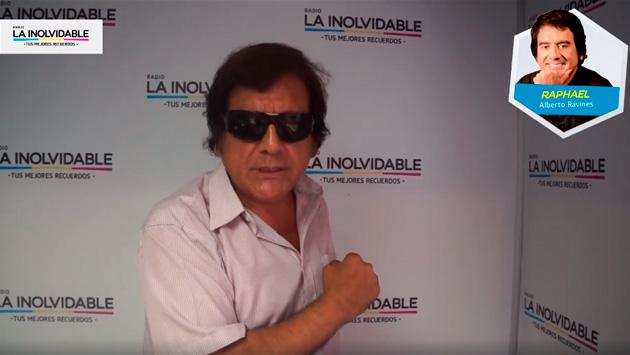 """Alberto Ravines """"Raphael"""" nos contó cuál será su repertorio musical en 'La Hora del Lonchecito EN VIVO'"""