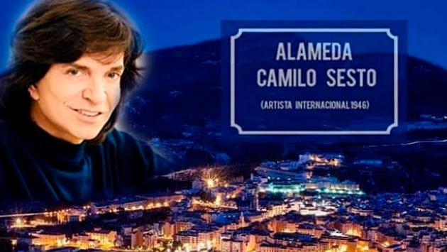 Alcoy le dedica una avenida a Camilo Sesto