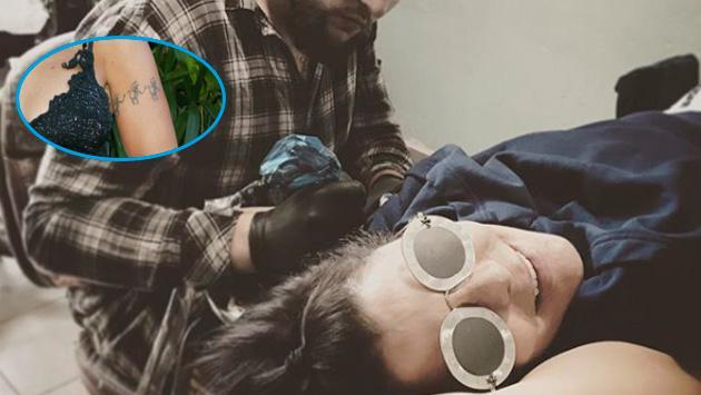 Alejandra Guzmán sorprende a sus fans con nuevo tatuaje