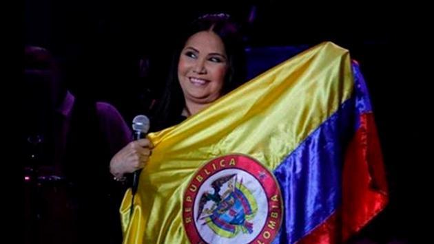 Ana Gabriel anima a la selección de Colombia tras su derrota en el Mundial