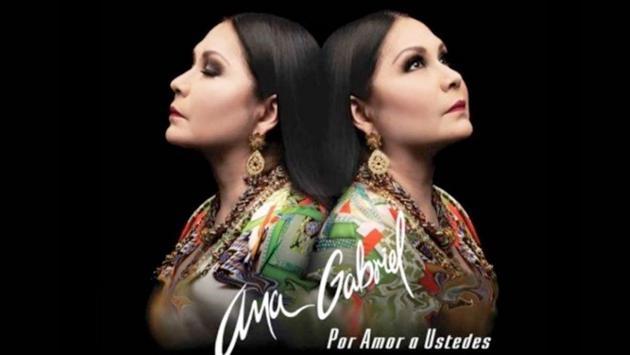 Ana Gabriel estrenó su nuevo disco 'Por amor a ustedes'