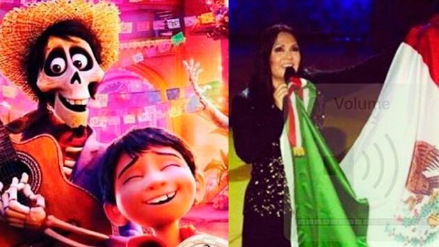 Ana Gabriel se mostró contenta por el premio que ganó la película 'Coco' en los Oscar