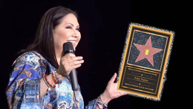 Ana Gabriel tendrá su estrella en el paseo de la fama de Hollywood