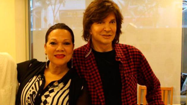 Ángela Carrasco le rindió homenaje a Camilo Sesto en Madrid