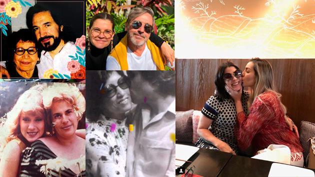 Así celebraron algunos artistas el Día de la Madre