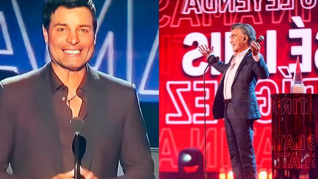 Así presentó Chayanne a José Luis Rodríguez 'El Puma' en los Latin American Music Awards 2021