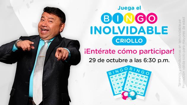 Bingo Inolvidable Criollo: Términos y Condiciones