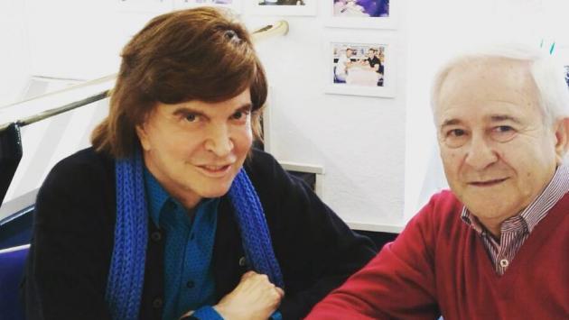 Camilo Sesto fue hospitalizado de emergencia en España