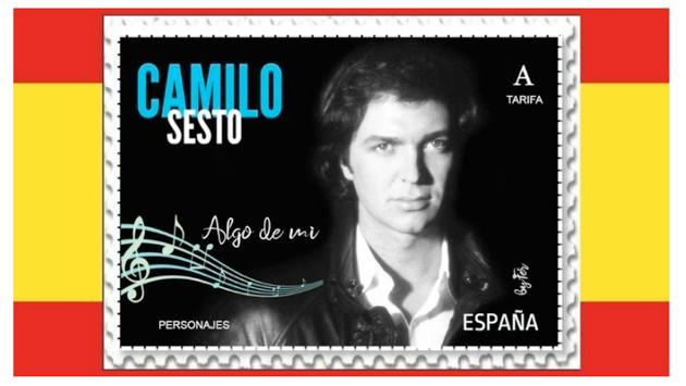 Camilo Sesto podría tener su propia estampilla