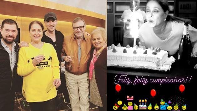 Así celebró su cumpleaños Daniela Romo
