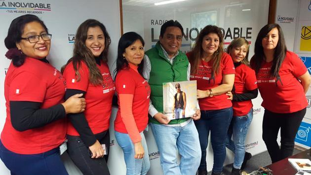 Así celebramos el cumpleaños de Chayanne en Radio La Inolvidable