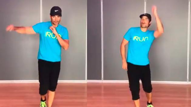Así ensaya Chayanne para memorizar sus coreografías