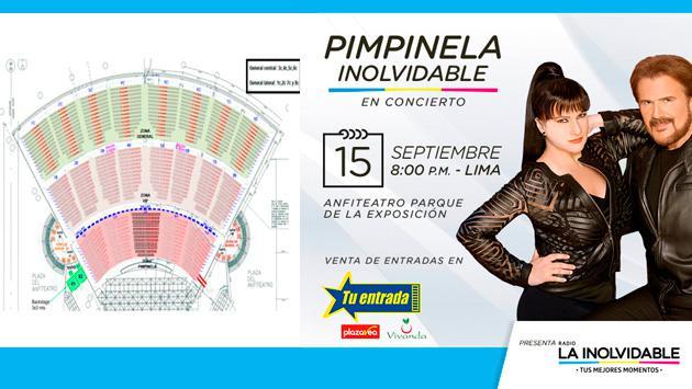 Concierto de Pimpinela en Lima: aquí los precios de las entradas