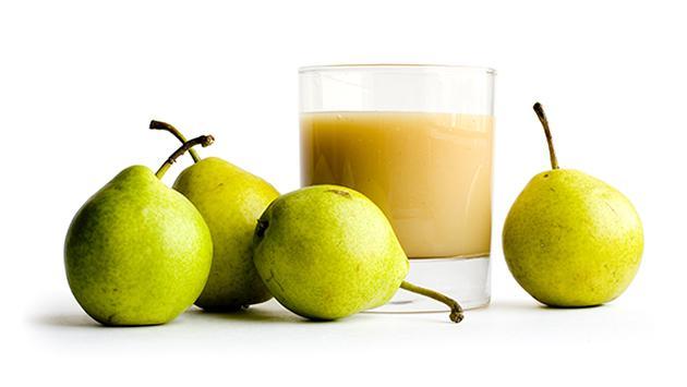 Conoce los beneficios del jugo de pera para la salud