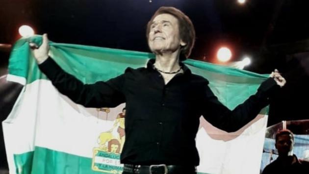 Detalles del espectacular concierto de Raphael en Sevilla