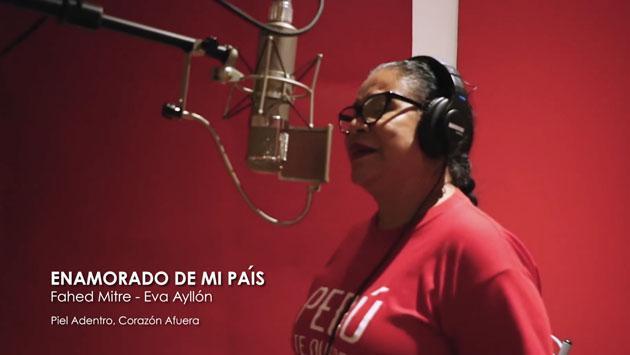 'Enamorado de mi país', de Eva Ayllón, ahora en versión balada [VIDEO]