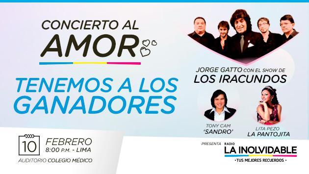 ¡Entérate quienes son los ganadores que conocerán a Jorge Gatto de Los Iracundos!