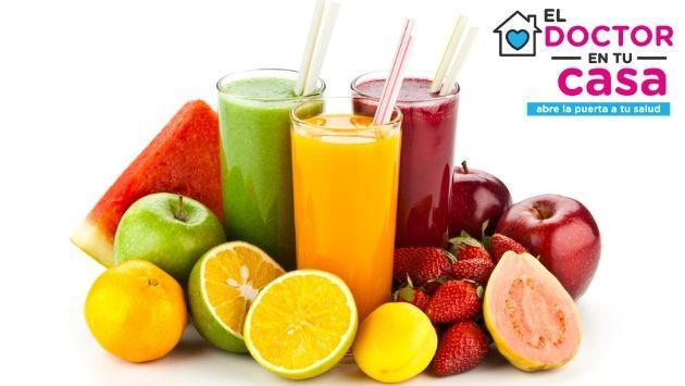 ¿Es bueno tomar extracto de fruta o jugo de frutas? Dr en tu casa responde