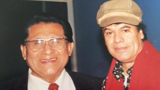 Este fue el encuentro entre Juan Gabriel y Luis Abanto Morales