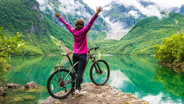 Estos son los beneficios de manejar bicicleta