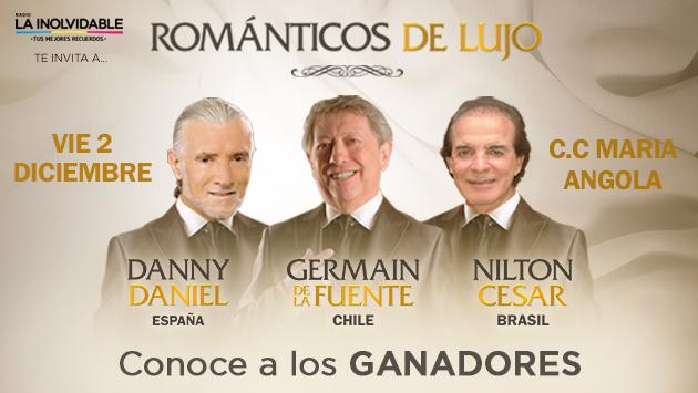 Estos son los ganadores de las entradas para 'Los románticos de lujo'