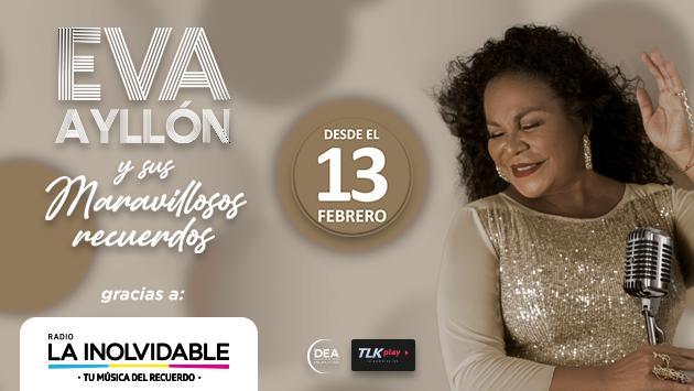 Eva Ayllón nos regalará canciones del recuerdo por San Valentín