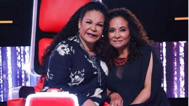 Eva Ayllón recibe sorpresa de su hermana Rosa en 'La Voz Senior'