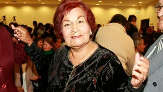 Falleció la gran cantante criolla Carmencita Lara
