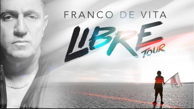 Franco De Vita realiza gira 'Libre Tour'