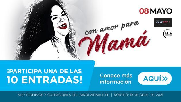 Gana entradas para 'Eva Ayllón con amor para Mamá'