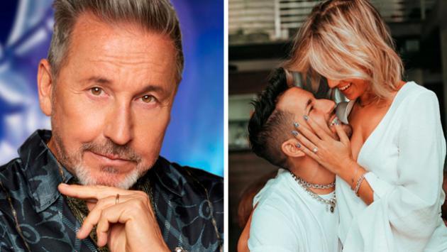 Ricky, el hijo de Ricardo Montaner se comprometió