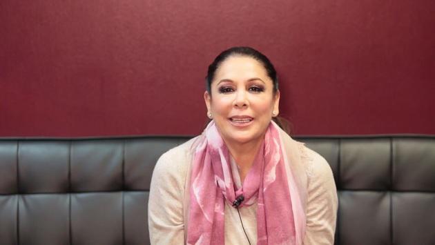 Isabel Pantoja envía saludos a los peruanos (VIDEO)
