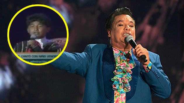 ¡Mira la vez que Juan Gabriel cantó con un niño vendedor de caramelos en Perú! [VIDEO]