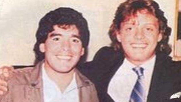 La noche que Luis Miguel tuvo que pagar miles de dólares por culpa de Diego Maradona
